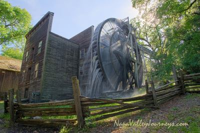 Bale Grist Mill in Bothe-Napa Valley State Park