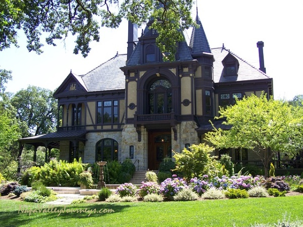 beringer, beringer winery, rhine house, napa valley