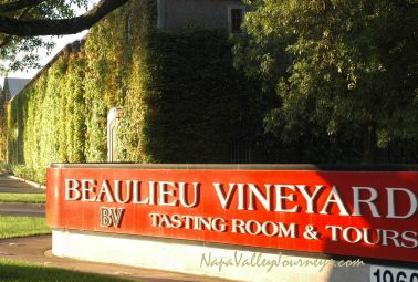 bv winery, beaulieu vineyards, beaulieu winery