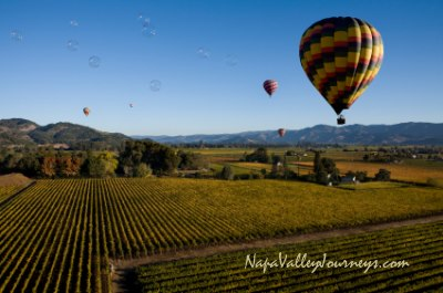 napa valley hot air balloon, napa valley balloon rides, hot air ballooning napa valley