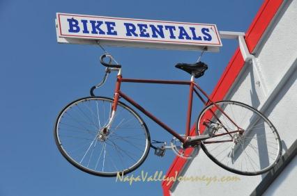 napa valley bicycle tours, napa valley bike rentals