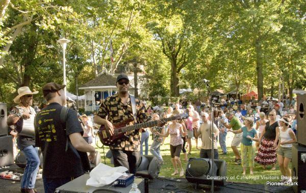 calistoga concerts, napa valley events