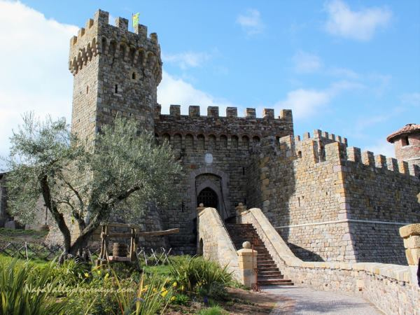 castello di amorosa, napa valley wineries